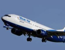 Blue Air a anulat 15 zboruri programate pentru duminica