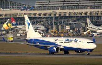 Blue Air foloseste avioane de pasageri pentru a aduce echipamente medicale din China