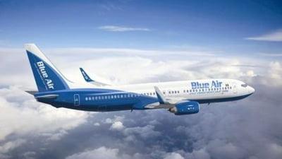 Blue Air lanseaza 37 de rute noi cu reducere de 35 % la bilete