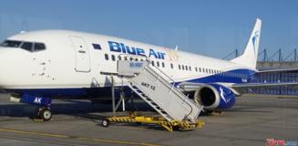 Blue Air lanseaza opt noi rute de zbor din Romania