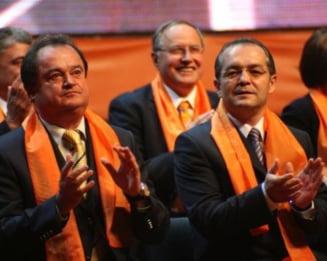 Boc, Blaga si sustinatorii, convocati de Basescu la Cotroceni, inainte de Congres