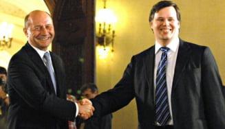 Boc: Evaluarea FMI nu a fost una usoara, Basescu a fost de mare ajutor