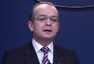 Boc: Sunt mandru ca le sunt incomod lui Victor Ponta si presei mogulesti