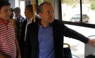 Boc a condus unul dintre controversatele tramvaie de 1,5 milioane de euro