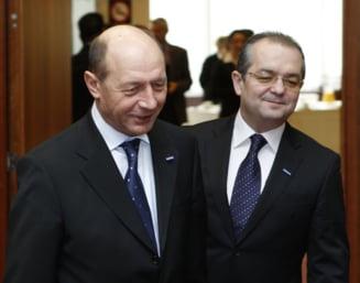 Boc l-a mintit pe Basescu?