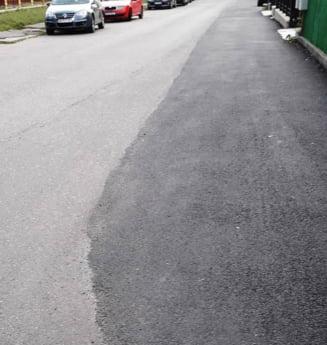 """Boc promite trotuar in Sopor: """"Vom face unul provizoriu pana la finalizarea proiectului"""""""