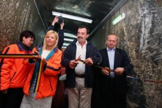 Boc si Udrea au inaugurat salina Turda