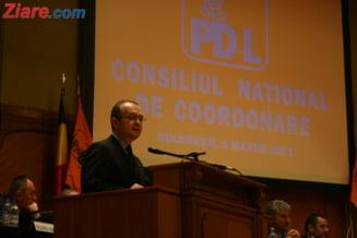 Boc sustine ca refacerea parteneriatului PDL cu Basescu ar salva tara (Video)