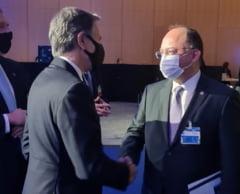 Bogdan Aurescu s-a întâlnit cu secretarul SUA al Departamentului de Stat și i-a mulțumit pentru contribuția la procesul de aderare a României la OCDE