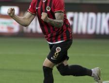 Bogdan Stancu a marcat golul echipei Genclerbirligi in meciul cu Fenerbahce