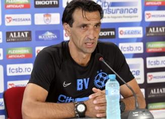 Bogdan Vintila a izbucnit in timpul unei conferinte de presa: Antrenorul lui FCSB s-a ridicat si a vrut sa plece