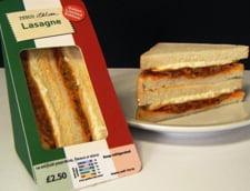 Bomba calorica: Sandvis cu lasagna