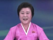 Bomba cu hidrogen a Coreei de Nord: Cine este femeia zambitoare care a dat poporului vestea cea mare (Video)
