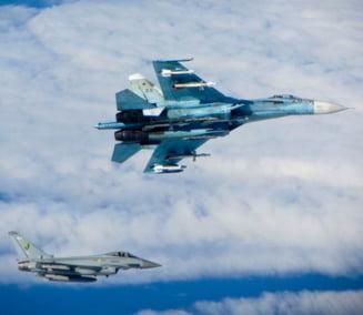 Bombardiere rusesti interceptate de britanici deasupra tarilor baltice