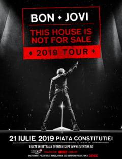 Bon Jovi va concerta la vara in Bucuresti