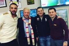 Boris Becker a venit in Romania - cu cine s-a intalnit fostul mare sportiv