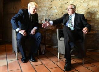 Boris Johnson si seful Comisiei Europene au ajuns la un nou acord pe Brexit. Opozitia de la Londra deja vrea sa-l respinga