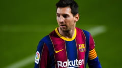 Borna fantastica atinsa de Messi la Barcelona VIDEO