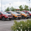 Borna impresionanta atinsa de Dacia in Germania