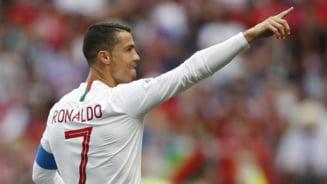 Borna incredibila atinsa de Cristiano Ronaldo la nationala Portugaliei