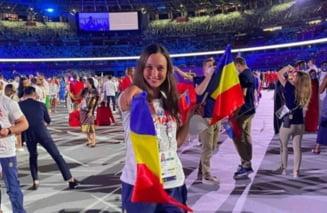 Botosaneanca plecata din Avrameni si devenita portdrapelul Romaniei la Jocurile Olimpice: Natiunea noastra este puternica - VIDEO & GALERIE FOTO