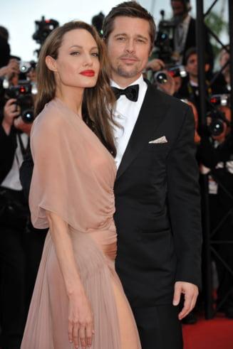 Brad Pitt, prima reactie la divortul de Angelina Jolie: Sunt foarte intristat