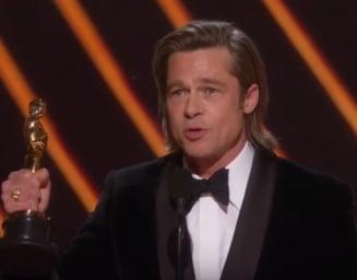 Brad Pitt a castigat primul sau Oscar ca actor. A concurat in categorie cu greii filmului (Video)