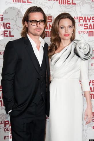 Brad Pitt confirma casatoria cu Angelina Jolie. George Clooney va fi usier