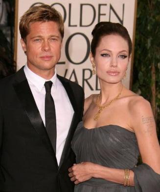 Brad Pitt nu este fericit cu Angelina?