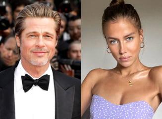 Brad Pitt s-a despartit de frumoasa Nicole Poturalski dupa o relatie de cateva luni