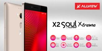 Brasovenii de la Allview au lansat X2 Xtreme: Un smartphone dual-SIM cu amprenta digitala