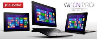 Brasovenii de la Allview au lansat o tableta cu Windows: Se transforma usor in notebook - afla pretul