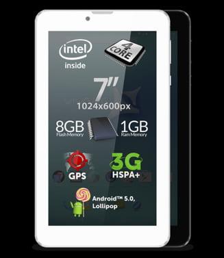 """Brasovenii de la Allview au lansat o tableta ieftina, ce se poate """"transforma"""" in telefon"""