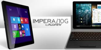 Brasovenii de la Allview lanseaza o tableta noua: Multitasking si Windows 8.1