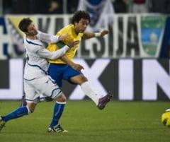 Brazilia, victorie in prelungiri cu Bosnia