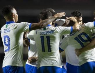 Brazilia a facut spectacol in primul meci de la Copa America 2019 (Video)