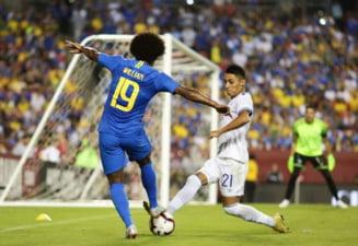 Brazilia a facut spectacol intr-un meci amical