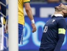 Brazilia a invins Franta la Paris