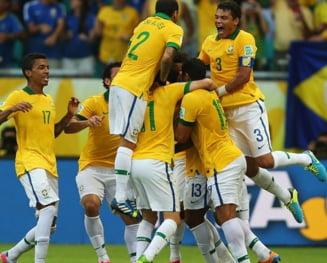 Brazilia invinge Italia la Cupa Confederatiilor