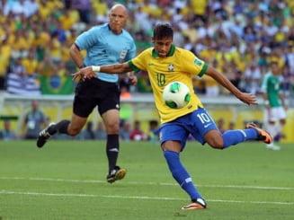 Brazilia invinge Mexic la Cupa Confederatiilor. Spectacol marca Neymar (Video)