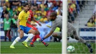 Brazilia nu a putut trece de Panama intr-un meci amical