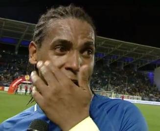 """Brazilianul Eric a izbucnit in plans dupa ce a castigat Cupa cu Viitorul: """"Am asteptat 12 ani seara asta"""""""