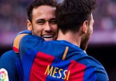"""Brazilianul Neymar, dupa dubla reusita pentru PSG contra lui Manchester United: """"Vreau sa joc din nou cu Messi"""""""