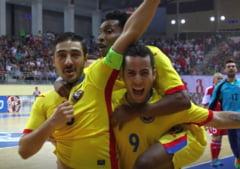 Brazilianul Savio a calificat nationala Romaniei la Campionatul European de futsal