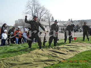 "Brigada 10 Geniu ""Dunarea de Jos"" - 11 ani de existenta"