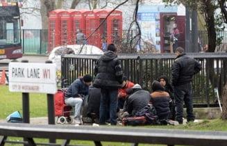 Britanicii, exasperati de cersetorii romani care au ocupat un alt parc din Londra