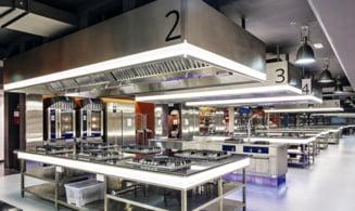 Bucataria unui restaurant de succes