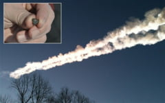 Bucati din meteoritul cazut in Rusia, vandute de chinezi cu zeci de mii de euro