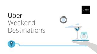 Bucurestenii pot merge mai ieftin cu Uber in weekend: Reduceri pentru anumite curse