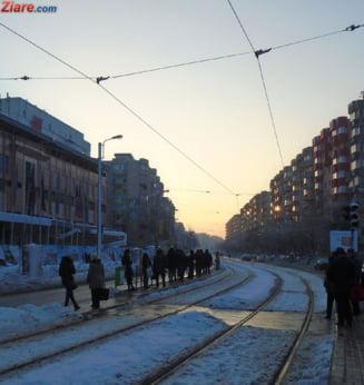 Bucuresti: Circulatia pe linia de tramvai 41 a fost reluata UPDATE